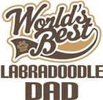 Labradoodle Dad (Worlds Best) T-shirts