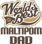 Maltipom Dad (Worlds Best) T-shirts