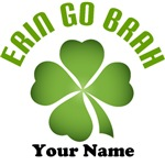 Erin Go Brah Irish Personalized Tees