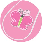 Cute Pink Tennis Ball T-shirts and Gifts