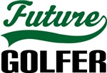 Future Golfer Kids T Shirts
