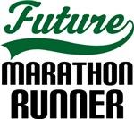 Future Marathon Runner Kids T Shirts