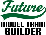 Future Model Train Builder Kids T Shirts