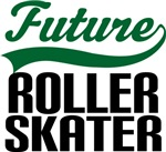 Future Roller Skater Kids T Shirts