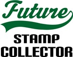 Future Stamp Collector Kids T Shirts