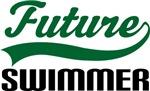 Future Swimmer Kids T Shirts