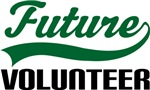 Future Volunteer Kids T Shirts