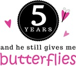 BUTTERFLY COUPLES ANNIVERSARY GIFTS FOR HIM/HER