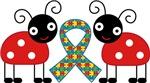 Autism Ladybugs Puzzle Ribbon T shirts