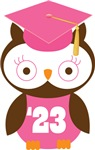 Owl 2023 Class Grad Gifts and Shirts