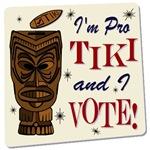 I'm Pro Tiki and I Vote
