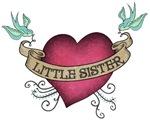 Little Sister Heart Tattoo