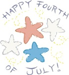 Happy Fourth of July Stars