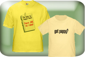 Pappy Gifts and T-Shirts