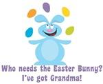 Easter Bunny? I've got Grandma!