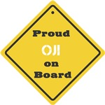 Proud Oji on Board