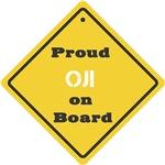 Proud Oji on Board
