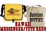 Hawaii Messenger/Tote Bags
