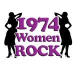 40th Gifts, 1974 Women Rock!