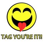 Tag, You're It! Humorous gifts.