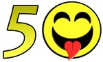 Smiley 50th Gifts!