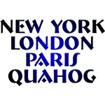 New York, London, Paris Quahog t-shirts!