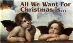Raphael Cherubs Christmas Cards & Gifts.