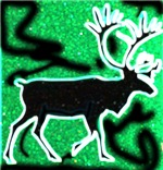 Reindeer t-shirts & deer gifts.