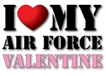 I Love My Air Force Valentine