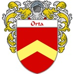 Orta Coat of Arms (Mantled)