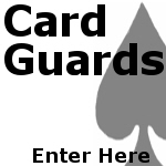 Poker Card Protectors - Card Guards
