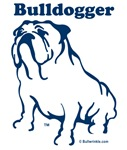 Bulldogger Logo Blue