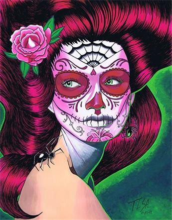 Sugar Skull Pink