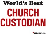 World's Best Church Custodian
