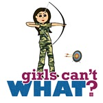 Camouflage Archery Girl - Light