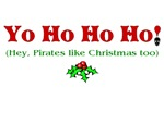 Yo Ho Ho Ho Pirate Christmas T-shirts & Gifts