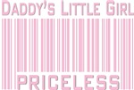 Daddy's Little Girl Priceless Pink T-shirts Gifts