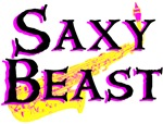 Saxy Beast Saxaphone T-shirts & Gifts