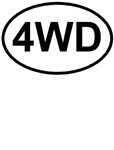 4WD Four Wheel Drive Off Road T-shirts & Gifts