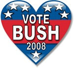 Vote Jeb Bush 2008 Political T-shirts & Gifts