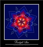Firelight Mandala Kaleidoscope T-shirts & Gifts