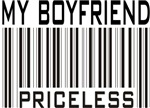 My Boyfriend Priceless Barcode T-shirts & Gifts