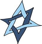 Star of David Hanukkah Mitzvah T-shirts & Gifts