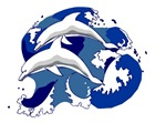 Dolphins in a Wave T-shirts & Gifts