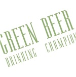 Green Beer Drinking Champion T-shirts and Gifts