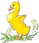 Cute Easter Duck T-shirts & Gifts