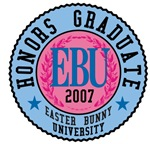 Easter Bunny University T-shirts and Gifts