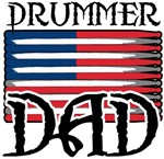 Father's Day Drummer Dad Tee shirts & Gifts