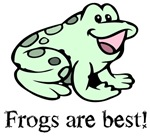 Cute Frogs are Best Love Frog T-shirts & Gifts
