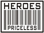 Heroes Priceless Support our Troops T-shirts Gifts